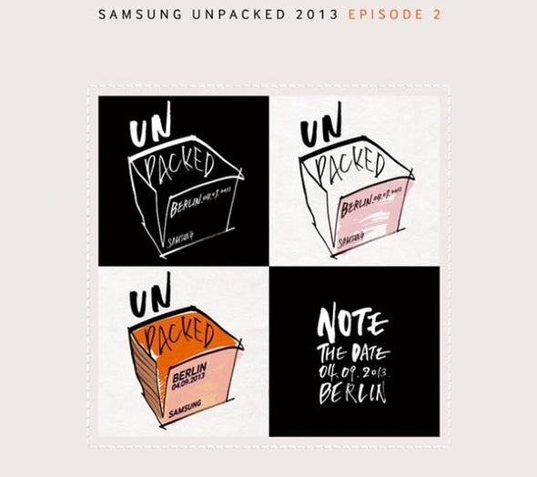 Samsung's next Galaxy Note to debut September 4