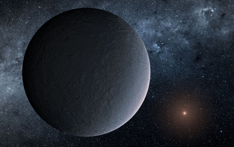 "Earth-Mass ""Ice Ball"" Planet Found 13,000 Light-Years Away"