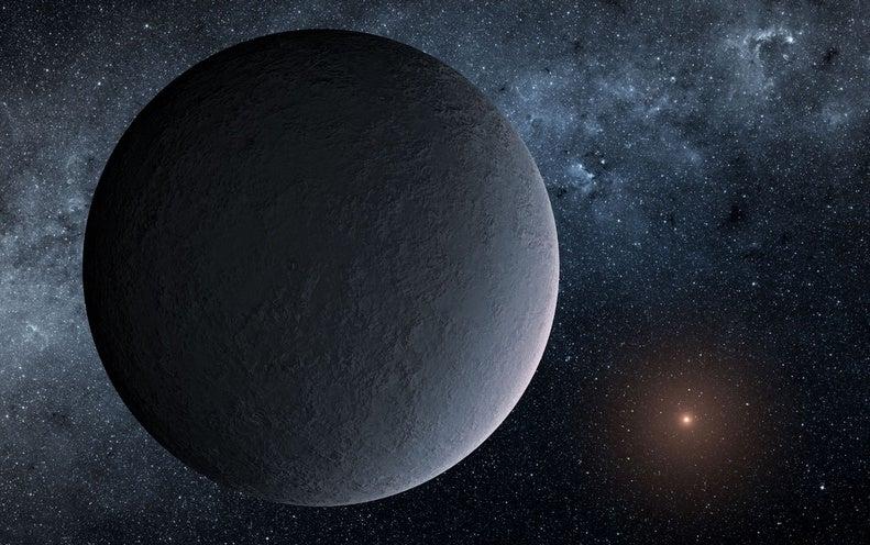 "Earth-Mass ""Ice Ball"" Planet Found 13,000 Light-Years Away"
