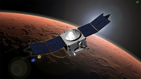 Mars Losing Parts of Itself