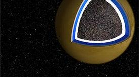 Signs of Hidden Ocean Underneath Titan's Crust