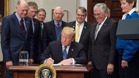 Trump Tells NASA to Return to the Moon