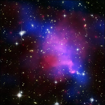 Dark Matter Behaving Badly