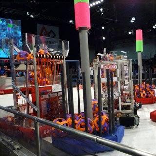 Teenage Robotics Engineers Unleash Their Creations in