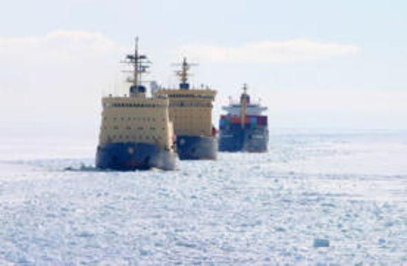 Climate Change Poses Arctic Challenge for U.S. Navy