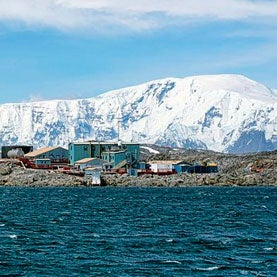 Palmer Station in Antarctica