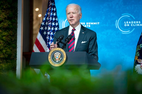 Biden Promises to Slash Greenhouse Gas Emissions by 50 Percent by 2030