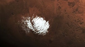 Deep within Mars, Liquid Water Offers Hope for Life