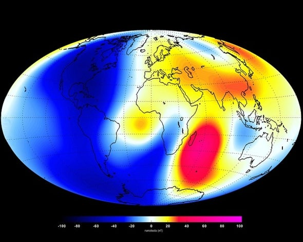Earth's Magnetic Field Flip Could Happen Sooner Than Expected