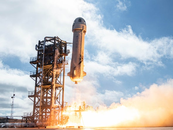Jeff Bezos and Blue Origin Are Finally Flying to Space