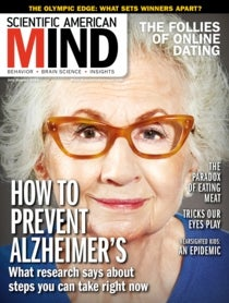 Scientific American Mind Volume 27, Issue 4