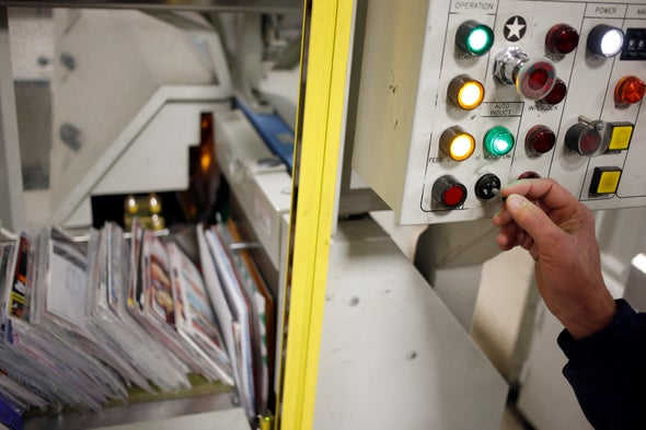 Mail-Sorting Machines Are Crucial for the U.S. Postal Service
