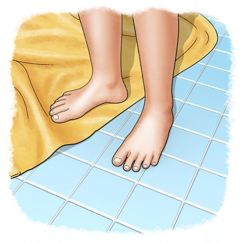 Why Does the Floor Feel Cold When the Towel Feels Warm?