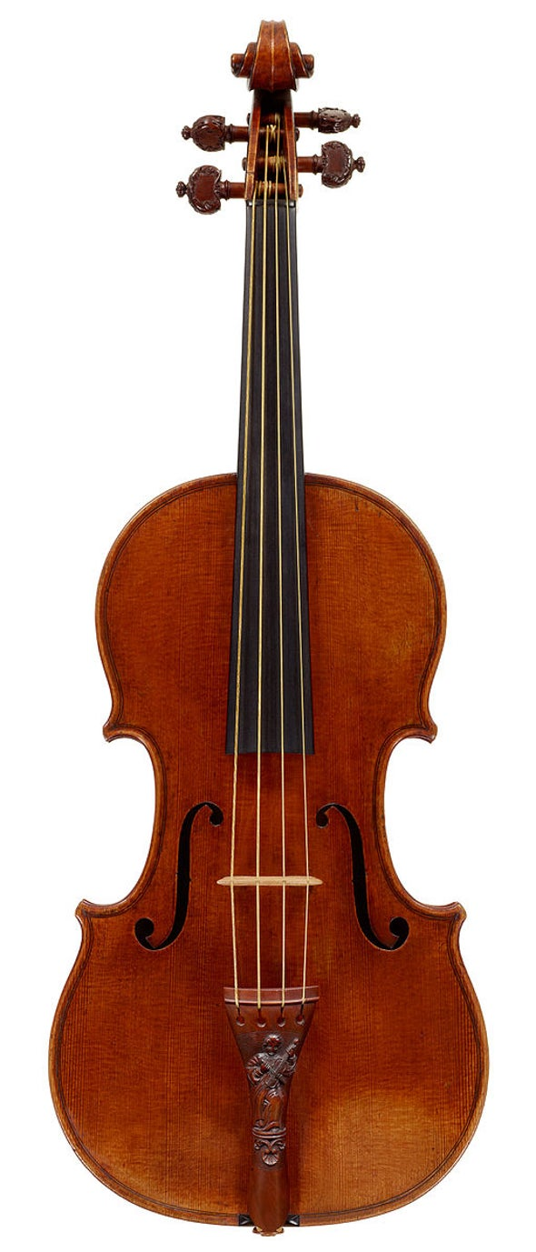 Plant Biology Informs the Origins of the Stradivarius
