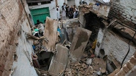 At Least 100 Dead After Strong Quake Hits Afghanistan, Pakistan