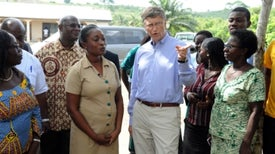 Bill Gates Views Good Data as Key to Global Health