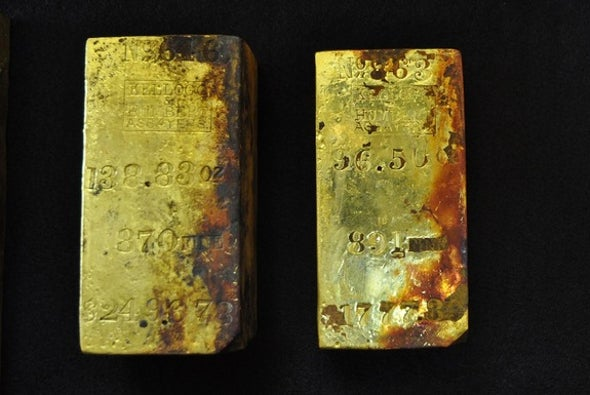 27 Kilograms of Gold Treasure Recovered from Shipwreck off Coast of South Carolina