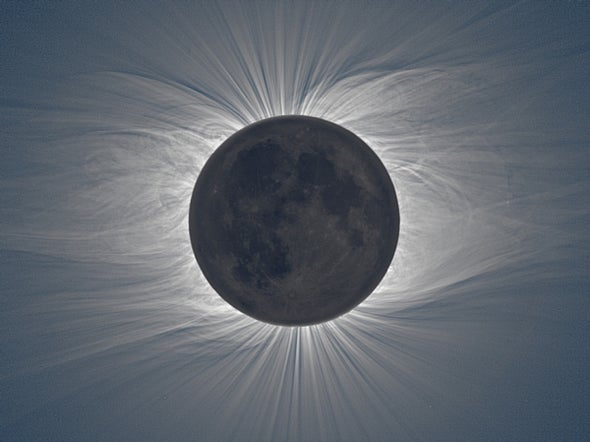 Eclipse Photograph Exposes Details of Both Sun and Moon
