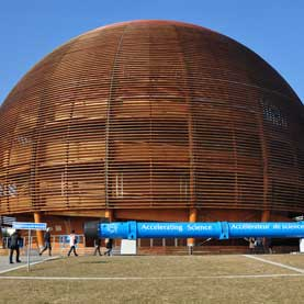 CERN's visitor center
