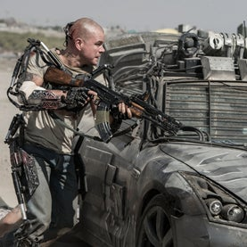 How Long until We Have the Superhuman Exoskeletons from <i>Elysium</i>?