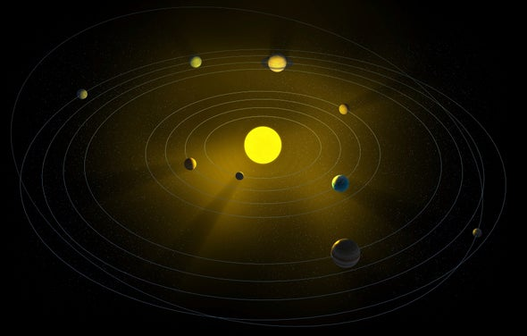 New Dwarf Planet Found Far beyond Pluto