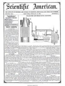 Scientific American Volume 8, Issue 22