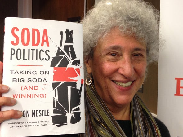 "Marion Nestle Talks ""Soda Politics"""