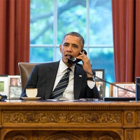 Obama Stands Fast on Intelligence Gathering but Promises More Oversight