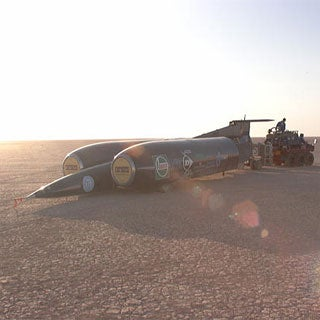 """Driving to Mach 1--""""Jetmobiles"""" try to go supersonic"""