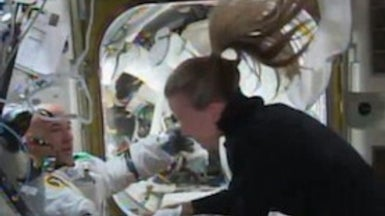NASA Investigating Mysterious Spacewalk-Ending Water Leak