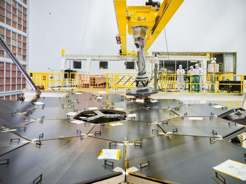 Mirror on the Cosmos: NASA's Next Big Telescope Takes Shape