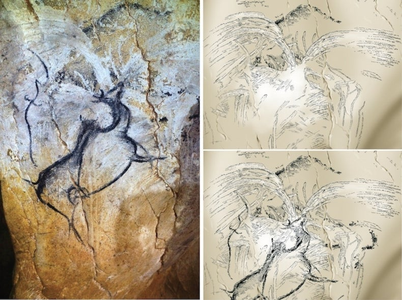"""""""Cave of Forgotten Dreams"""" May Hold Earliest Painting of Volcanic Eruption"""