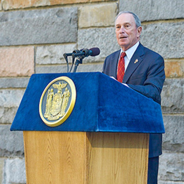 Climate Change Influence on Superstorm Sandy Drives Bloomberg to Endorse Obama