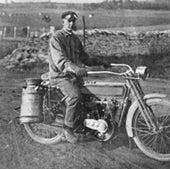 Motorcycle Milkman: