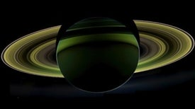 Shadow Dance: Cassini Captures Dramatic Panorama of Saturn Backlit by the Sun