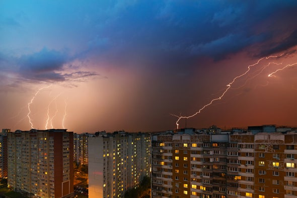 A Bolt from the Brown: Why Pollution May Increase Lightning Strikes