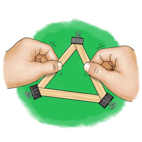 Popsicle Stick Trusses: What Shape Is Strongest?
