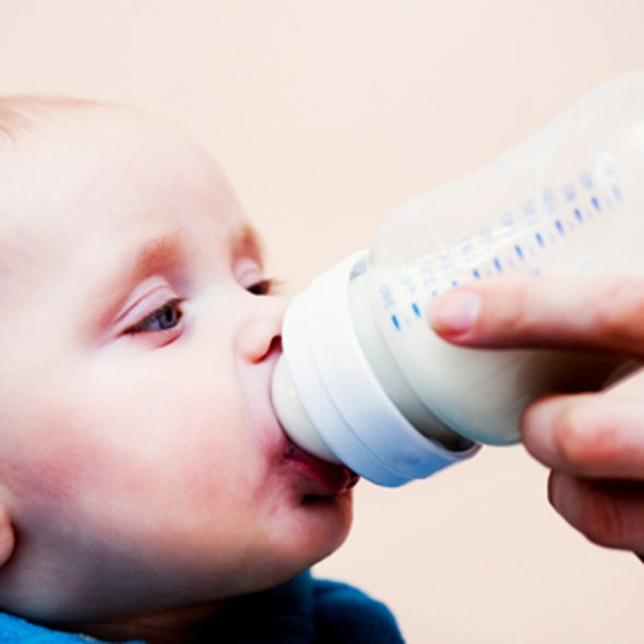 CDC Study Finds Rocket Fuel Chemical in Baby Formula