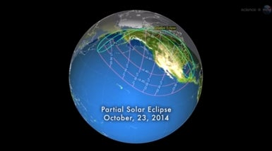 Partial Solar Eclipse to Darken U.S. Skies This Week