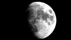 How Does Geometry Explain the Phases of the Moon?