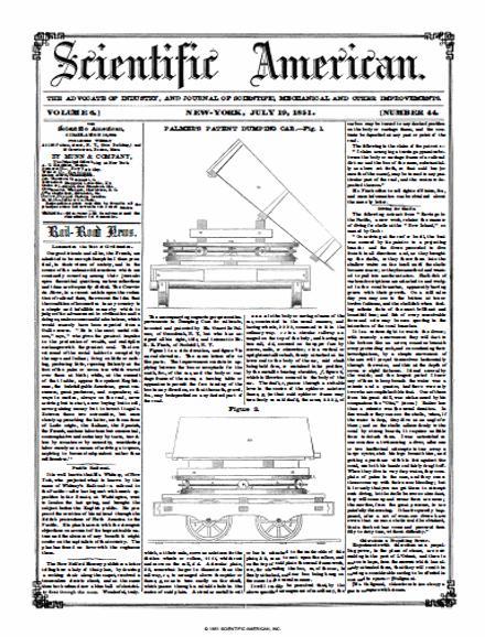 Scientific American Volume 6, Issue 44