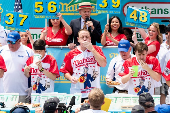 How Many Hot Dogs Can a Human Theoretically Eat? A Sports Scientist Weighs In