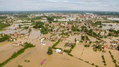 """Unprecedented"" Flooding in Balkans Caused by Low Pressure Parked over SE Europe"