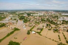 Balkan flooding