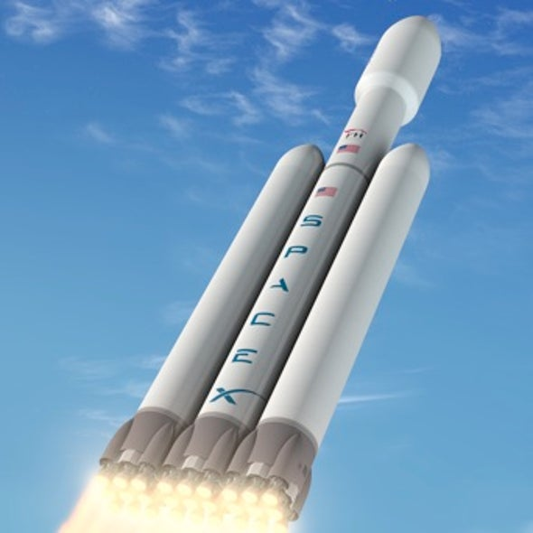Lofting Aspirations: SpaceX Plans to Launch World's Most Powerful Rocket in 2013