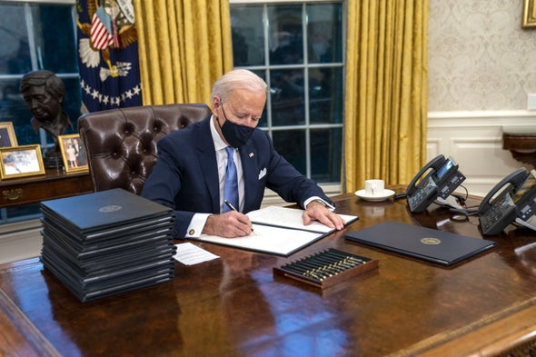 Here Are All the Climate Actions Biden Took on Day One