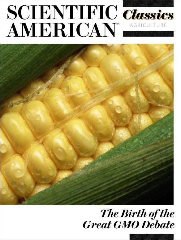 The Birth of the Great GMO Debate