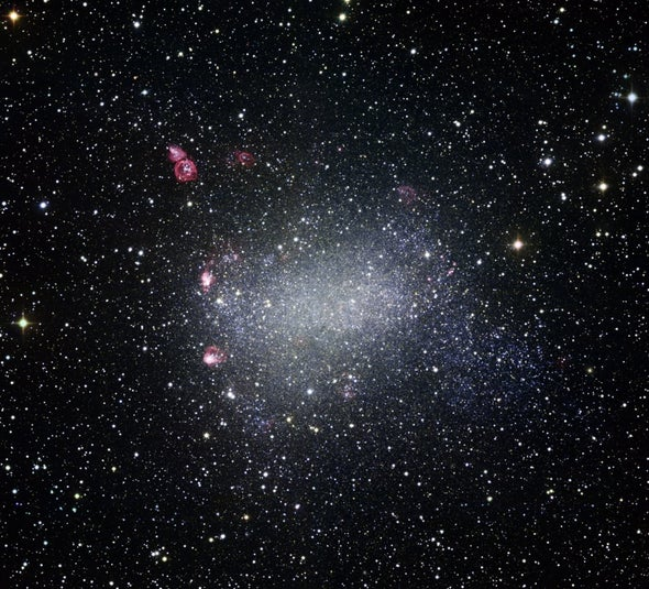 Active Star Formation Revealed in Nearby Barnard's Galaxy