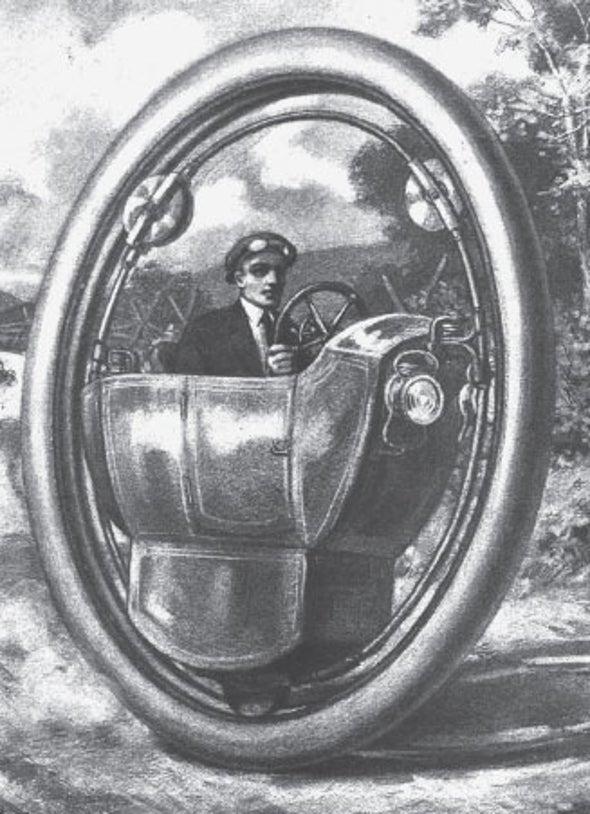 A Motorized Single-Wheel Car