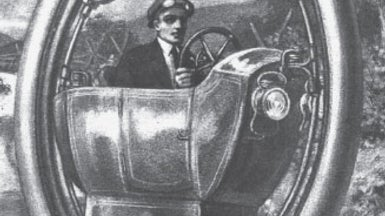 A Motorized Single-Wheel Car